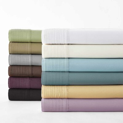 Duke Extra Deep Pocket Pleated Sheet Set
