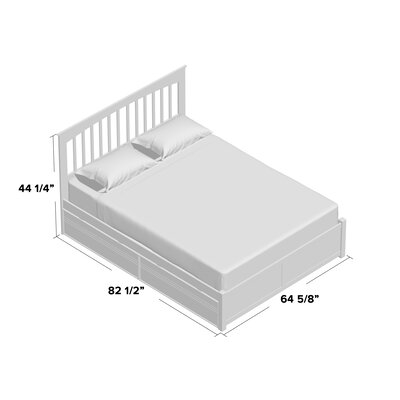 Arkwright Storage Platform Bed Size: King