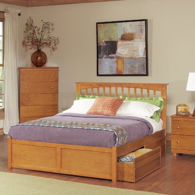 Davenport Storage Platform Bed Size: Full