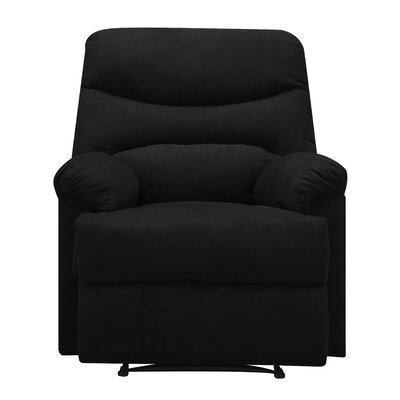 Millicent Chaise Recliner Upholstery: Black