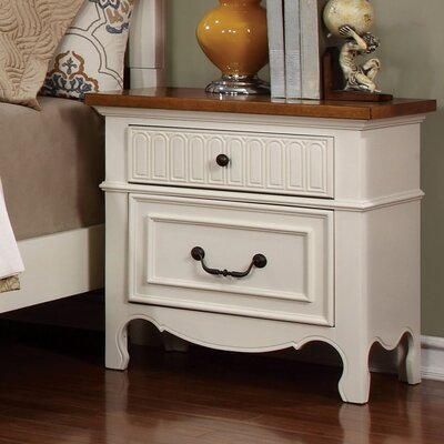 Jefferson 2 Drawer Nightstand