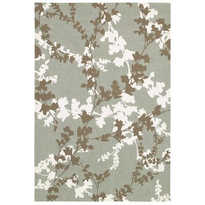 Mccall Willow Branch Hand-Woven Sage Indoor/Outdoor Area Rug Rug Size: 2 x 4