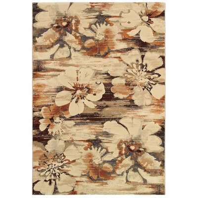 Berger Mosaic Florals Rug Rug Size: Rectangle 53 x 76
