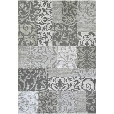 Bickerstaff Oyster/Pearl Area Rug Rug Size: 53 x 76