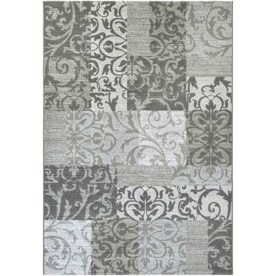 Bickerstaff Oyster/Pearl Area Rug Rug Size: Rectangle 92 x 129