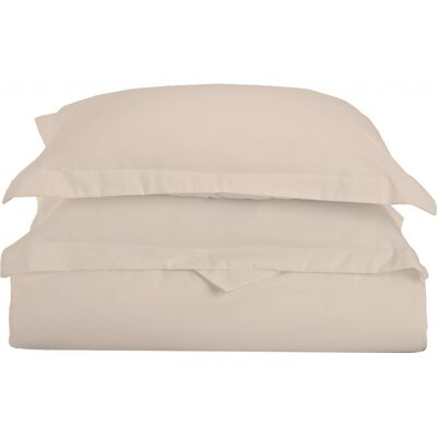 Gabriel Luxury 3 Piece Duvet Cover Set Color: Beige, Size: Full/Queen