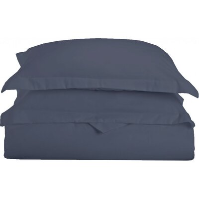 Gabriel Luxury 3 Piece Duvet Cover Set Color: Blue, Size: King/California King