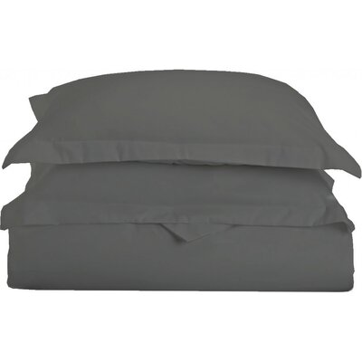 Gabriel Luxury 3 Piece Duvet Cover Set Color: Gray, Size: King/California King