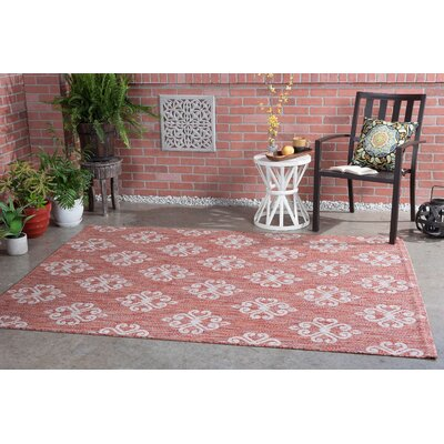Segera Transitional Terra Indoor/Outdoor Area Rug Rug Size: 710 x 103