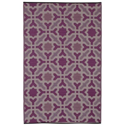 Martina Purple Indoor/Outdoor Area Rug Rug Size: 3' x 5'