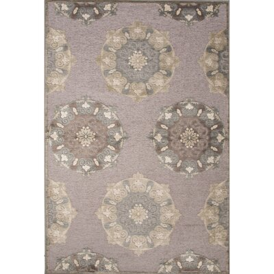 Dolores Rayon and Chenille Machine Made Area Rug Rug Size: 53 x 78