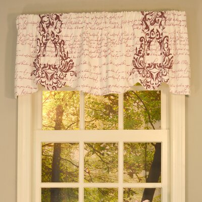 Melvin Lined Beacon 53 Valance Color: Port