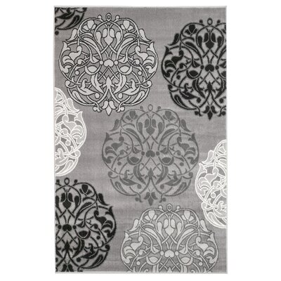 Frieda Gray Area Rug Rug Size: 410 x 72