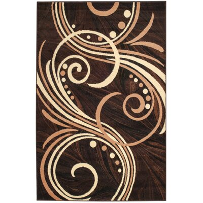 Frieda Brown Area Rug Rug Size: 38 x 5