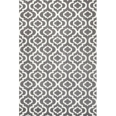 Frieda Grey Area Rug Rug Size: 38 x 5