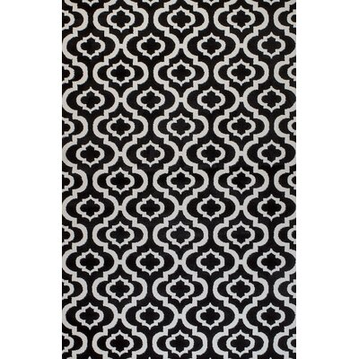 Frieda Black Area Rug Rug Size: Runner 2 x 7