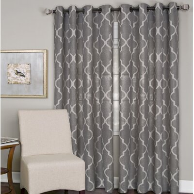 Horatio Medalia Single Curtain Panel