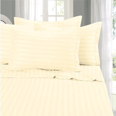 Whitman 1500 Thread Count Sheet Set Color: Beige, Size: Full