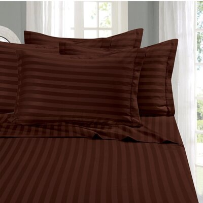 Whitman Sheet Set Size: King, Color: Brown