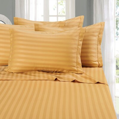 Whitman 1500 Thread Count Sheet Set Color: Gold, Size: California King