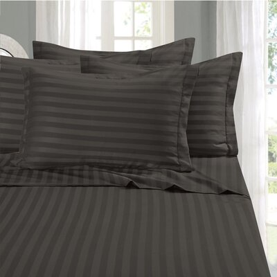 Whitman 1500 Thread Count Sheet Set Color: Gray, Size: California King
