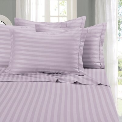 Whitman Sheet Set Size: California King, Color: Lilac