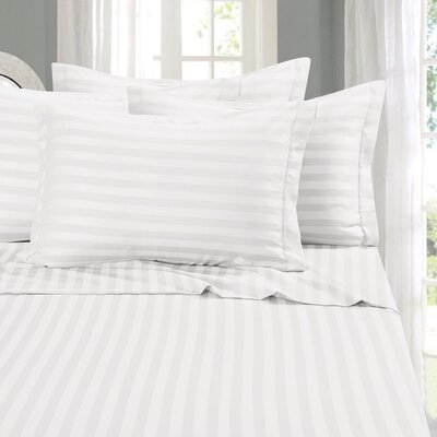 Whitman 1500 Thread Count Sheet Set Color: White, Size: California King