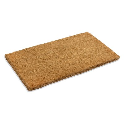 Galentine Plain Doormat Mat Size: Rectangle 110 x 3