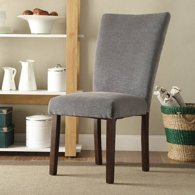 Pomfret Parson Chair Color: Gray