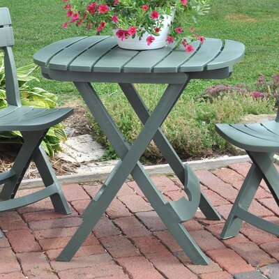 Quebec Resin Bistro Table Finish: Sage