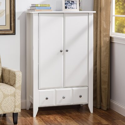 Revere Armoire Color: Soft White