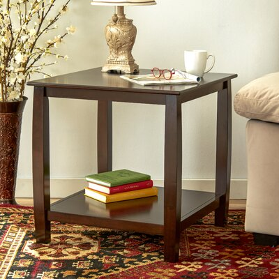 Oakcrest End Table Color: Espresso
