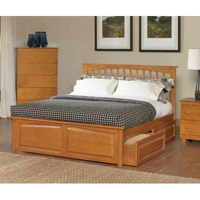 Davenport Storage Platform Bed Size: Full