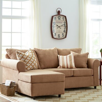 Dewitt Sectional Upholstery: Bulldozer Mocha / Transform Mocha