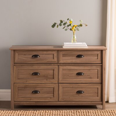 Reinhold 6 Drawer Dresser