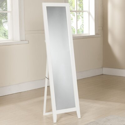 Standing Full Length Mirror Finish: White