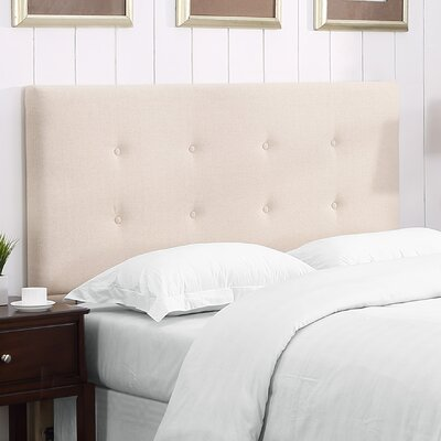 Bates Upholstered Panel Headboard Size: King/California King