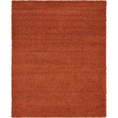 Lilah Basic Terracotta Area Rug Rug Size: Rectangle 8 x 10