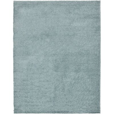 Lilah Light Blue Area Rug Rug Size: Rectangle 8 x 10