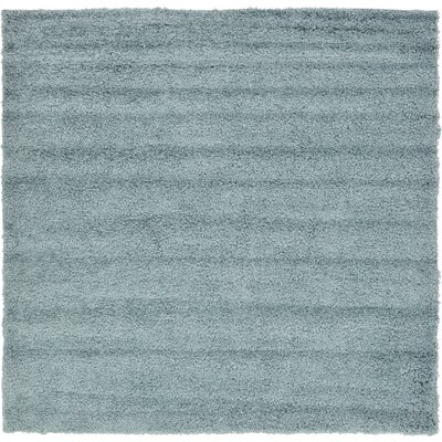 Lilah Light Blue Area Rug Rug Size: Square 82, Color: Blue