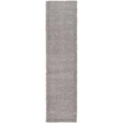 Lilah Gray Area Rug Rug Size: Runner 26 x 10