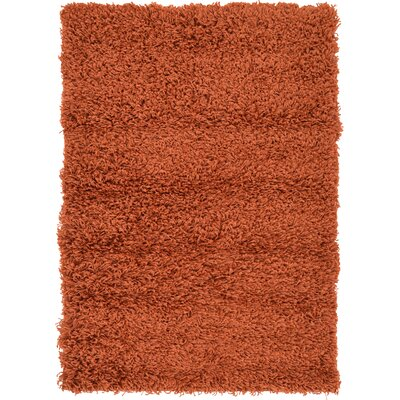 Lilah Basic Terracotta Area Rug Rug Size: Rectangle 22 x 3