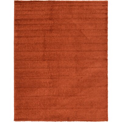 Lilah Basic Terracotta Area Rug Rug Size: Rectangle 10 x 13