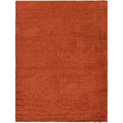 Lilah Basic Terracotta Area Rug Rug Size: 8 x 11