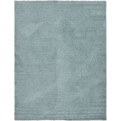 Lilah Light Blue Area Rug Rug Size: 10 x 13, Color: Blue