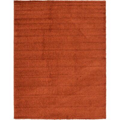 Lilah Basic Terracotta Area Rug Rug Size: 12 x 15