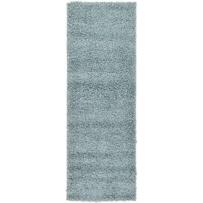 Lilah Light Blue Area Rug Rug Size: Runner 22 x 65, Color: Blue