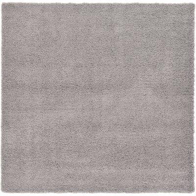 Lilah Gray Area Rug Rug Size: Square 82