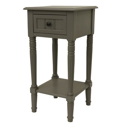 Adaline End Table Color: Eased Edge Gray