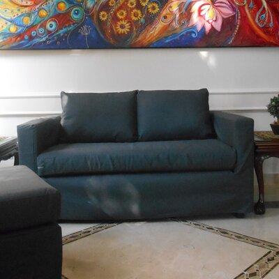 Luella Reversible Chiase Sectional Upholstery: Titanium